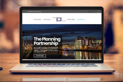 Website Development - The Planning Partnership